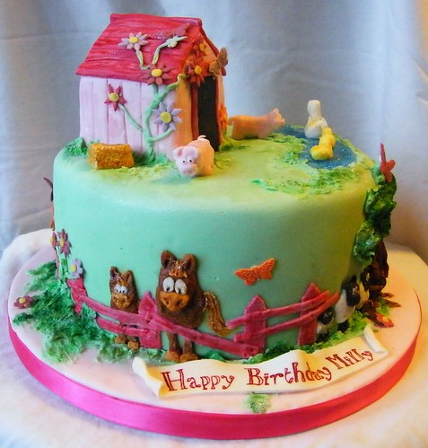 Farm Figurines For Cakes