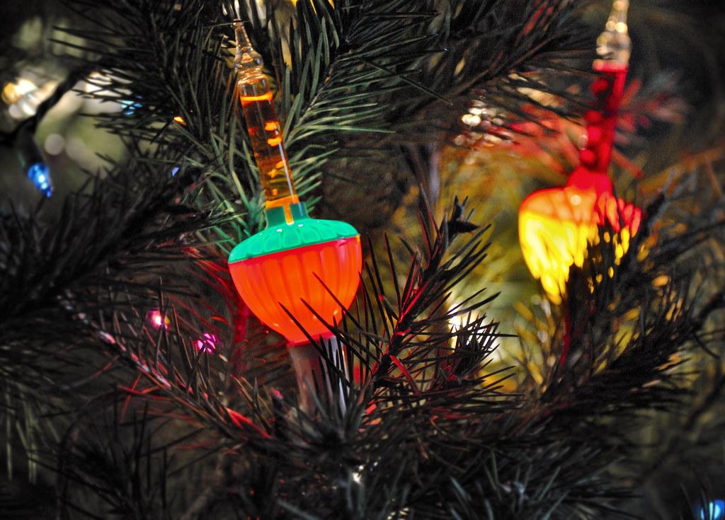 Vintage Ceramic Christmas Tree Bulbs