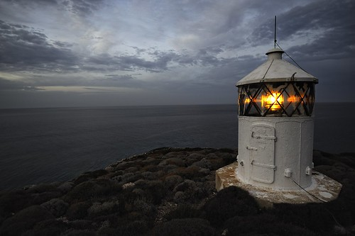 Lighthouse in Armenistís by Ralf Moritz on Flickr
