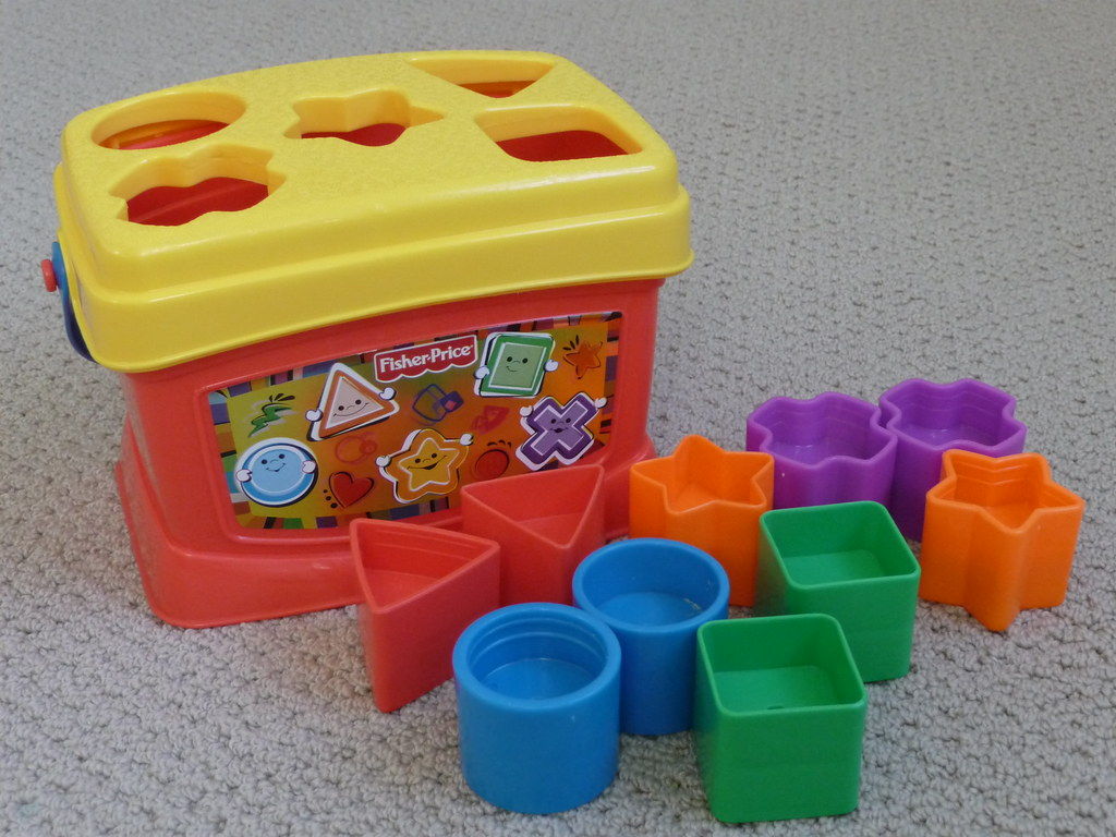 Fisher Price Shape sorter $5 | Got this beautiful set of sha… | Flickr