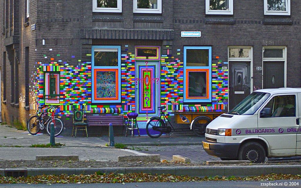 Rotterdam boezemlaan crooswijk psychedelische sloopw for Rotterdam crooswijk
