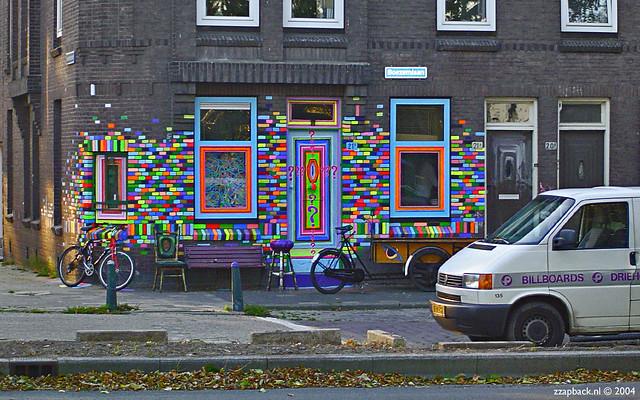 Rotterdam boezemlaan crooswijk psychedelische for Rotterdam crooswijk
