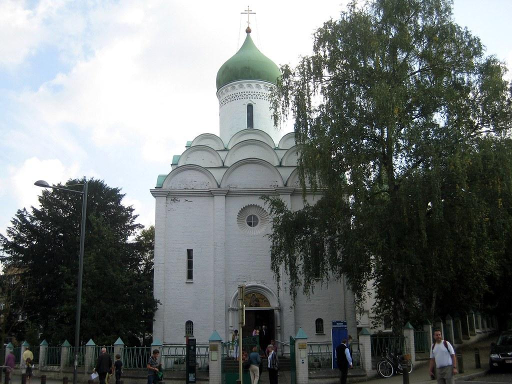 Russisch Orthodoxe Kerk Sint Job Ukkel De Russisch