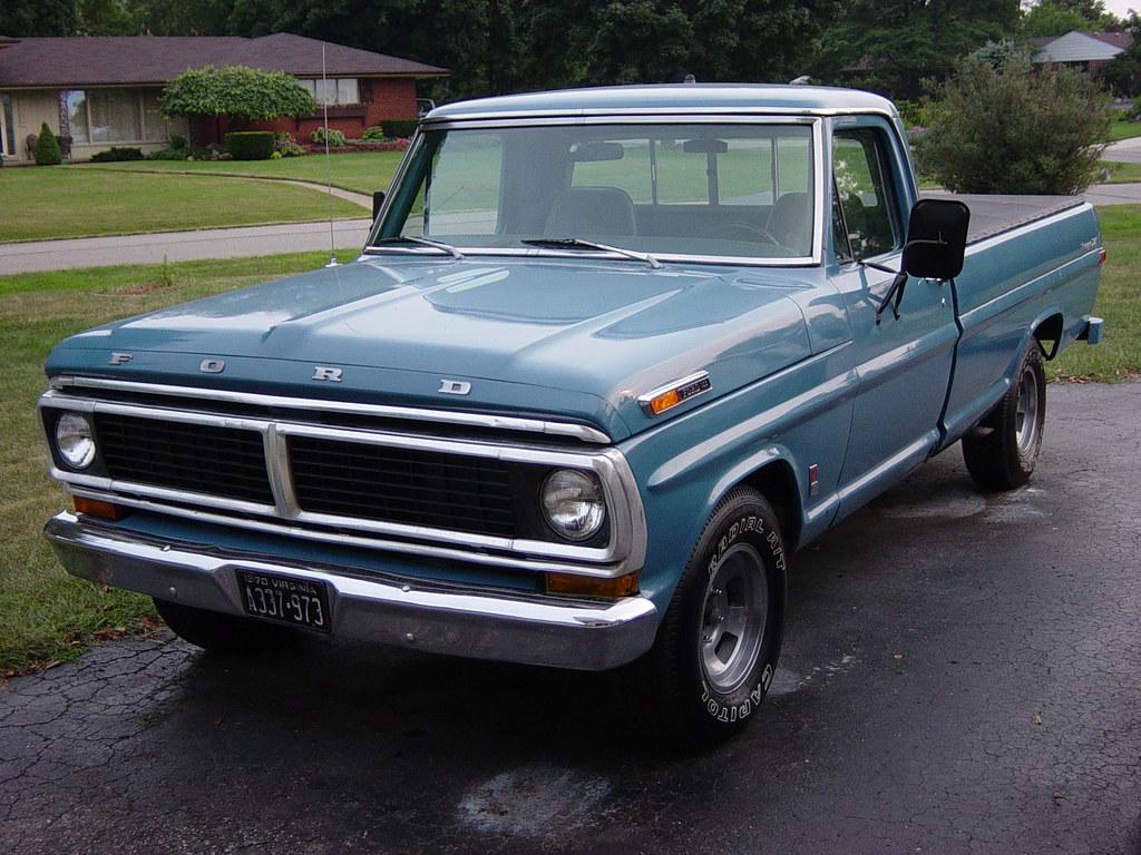 1970 ford f 100 1970 f100 ranger xlt the fancy trim was. Black Bedroom Furniture Sets. Home Design Ideas