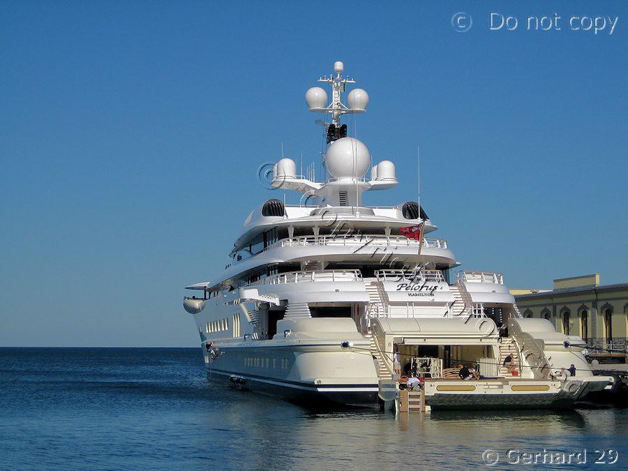 Pelorus pelorus yacht di 115 metri 377 piedi for 110 piedi in metri