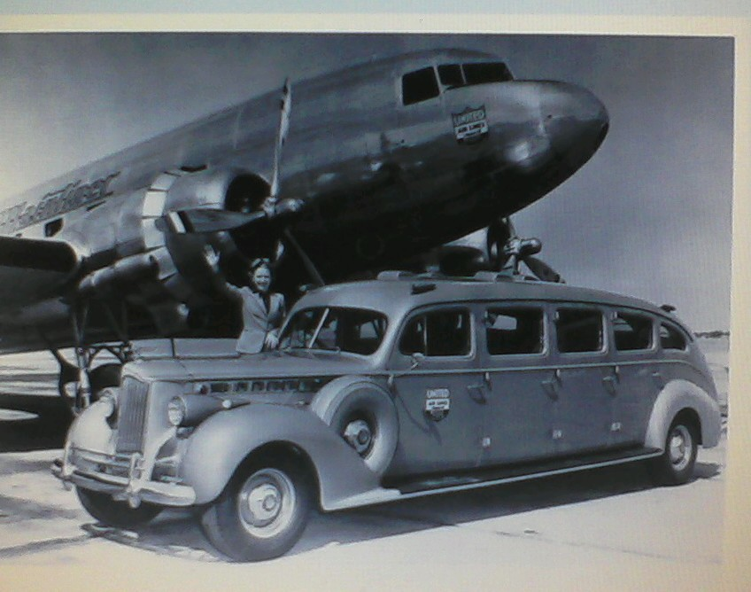 1940 Packard 8 Door Limousine Now That Is An Airport