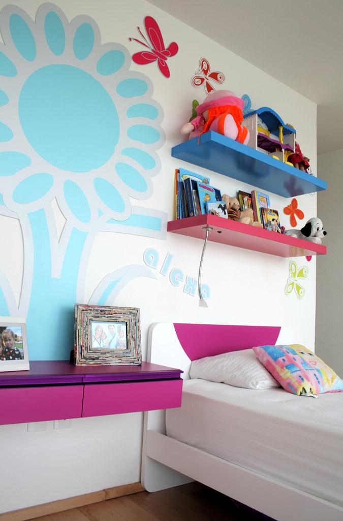 Ambientacion de cuarto infantil ambientacion de cuarto for Camas individuales para ninas