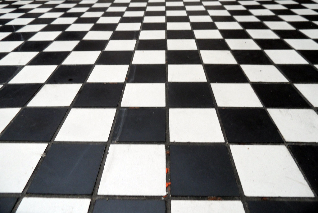 Mono Checkered Floor Texture Please Feel Free To Use