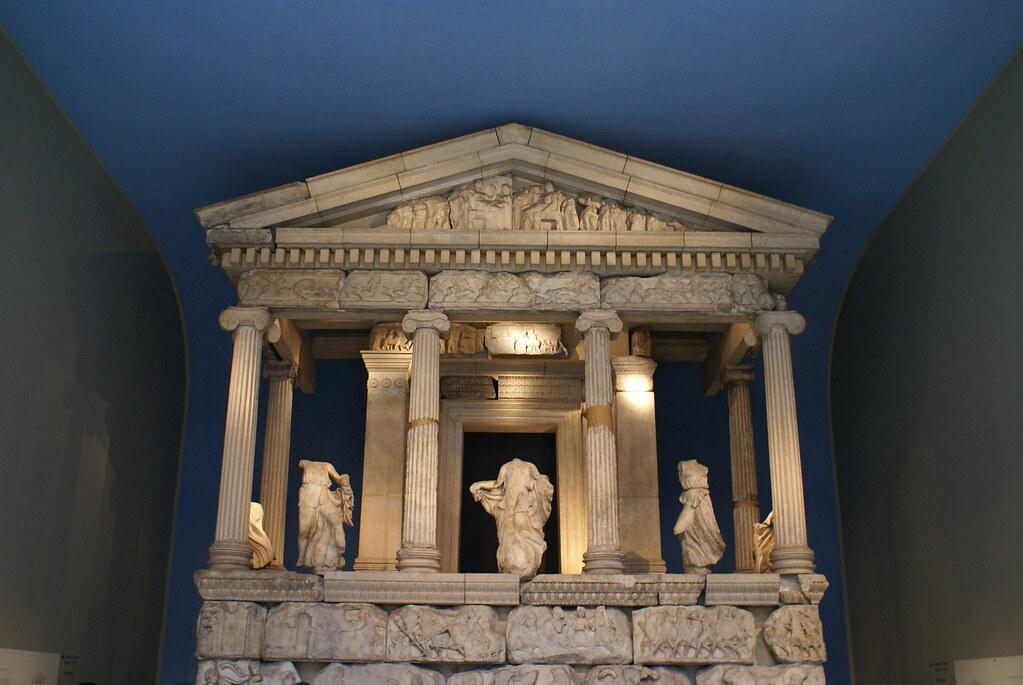 Monumento de las Nereidas | Procedente de Xantos, Licia en ...