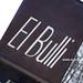 El Bulli Restaurant!