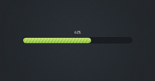Pretty Little Progress Bar (PSD) | by Orman Clark