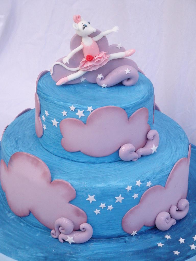 Angelina Ballerina Cake Pan