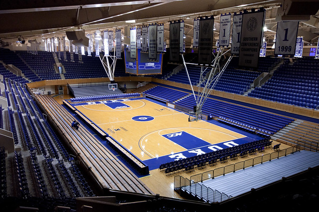 Cameron Indoor Stadium December 19th 10 Flickr