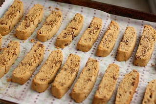 Peanut Butter Cup Biscotti | by Tracey's Culinary Adventures