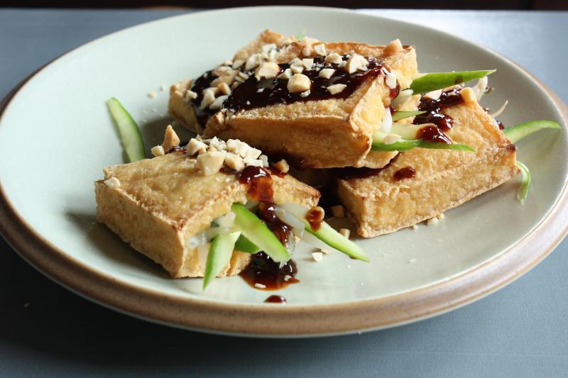 Grilled Crisp Tofu Pockets | Andrea Nguyen | Flickr