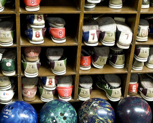 bowling shoes | by j.o.h.n. walker