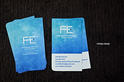 FE Photography Business Card | by podtim