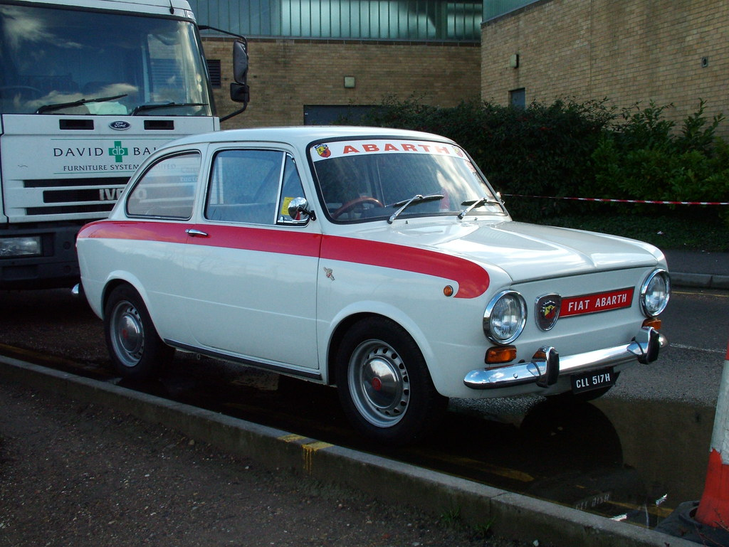 Fiat 850 Abarth 1970 Fiat 850 Abarth I Saw This One At