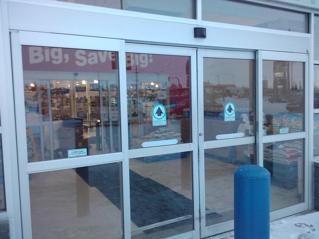 Horton automatic sliding doors these