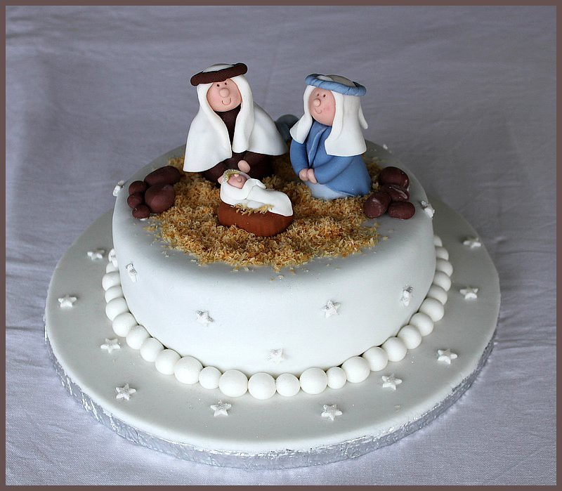 Nativity Scene Cake Ideas