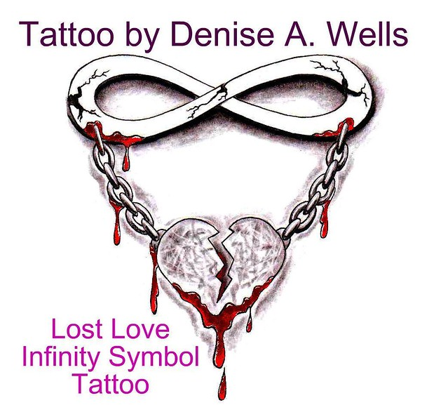 lost love tattoo design by denise a wells flickr photo sharing. Black Bedroom Furniture Sets. Home Design Ideas