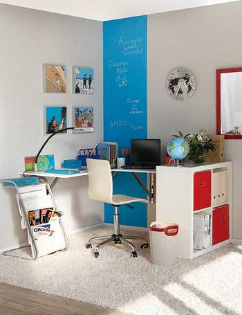 Expedit Corner Office From Playroom To Office Expedit