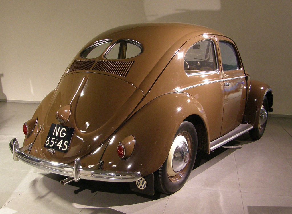 1951 Vw Beetle K 228 Fer Bril Kever Deze Auto Staat In