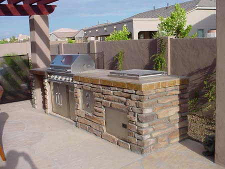 Built In Bbq Grills Patio Design For Outdoor Living