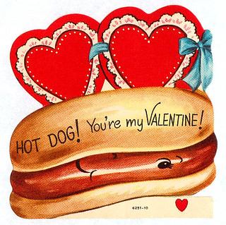 Vintage Valentine: Hot Dog! | by pageofbats
