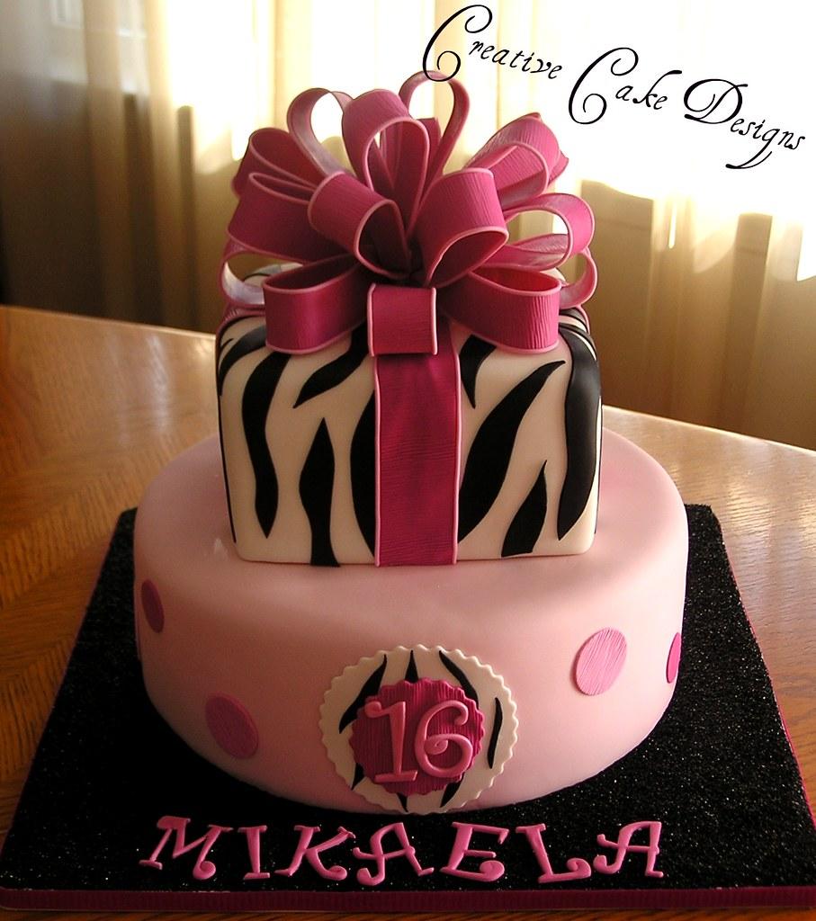 My Favorite Zebra Cake So Far!! This