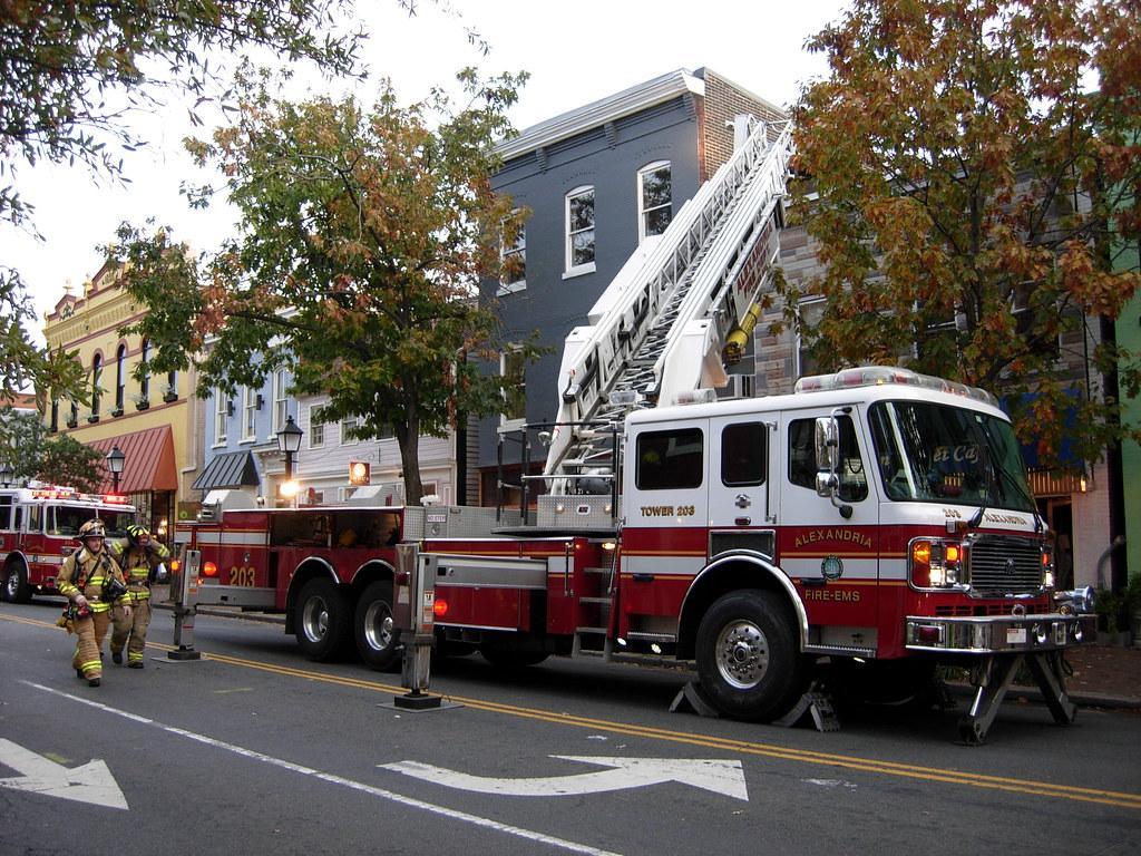 Alexandria Va Fire Dept Alf Aerial Tower An Alexandria