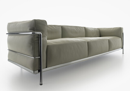 shapeimage 7projekt bauhaus m bel le corbusier lc3 sofa. Black Bedroom Furniture Sets. Home Design Ideas