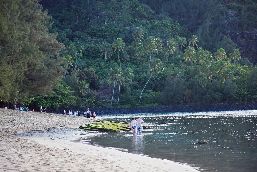 Tunnels Beach Kauai Hawaii I Spent More Than An Hour