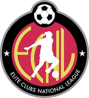 Elite Clubs National League (ECNL) Logo | by demosphere