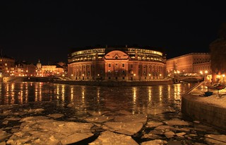 The Riksdag building Stockholm by night | by Maria_Globetrotter