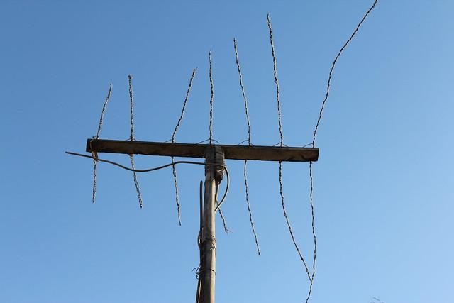 homemade tv antenna flickr photo sharing