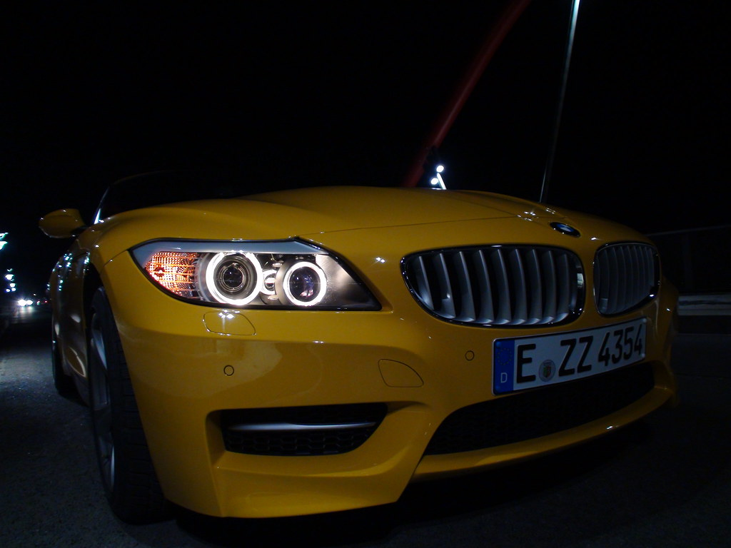 bmw z4 35is atacama yellow sascha flickr. Black Bedroom Furniture Sets. Home Design Ideas