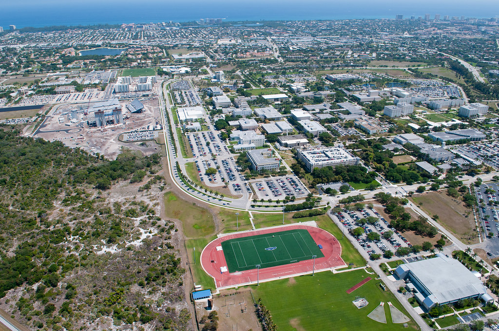 Fau Boca Campus Aerial Photo Aerial Photo Of The Fau