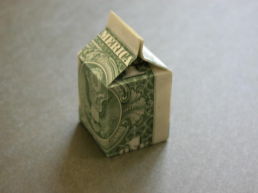 Dollar Origami Hexagon Box