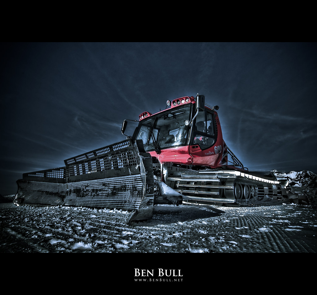 Pistenbully 600 Val D Isere France Snapped This Fella