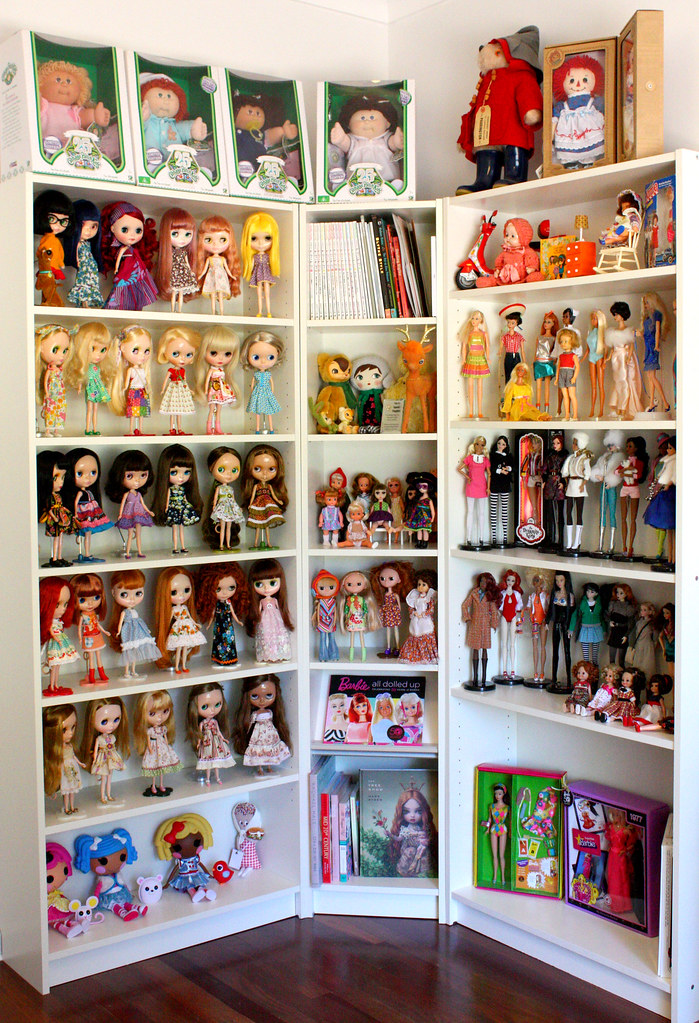 New Doll Display Still A Work In Progress Decided To