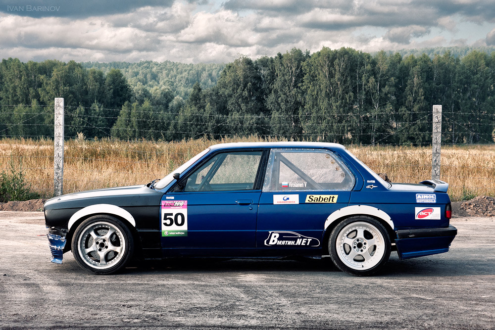 Russian Drift Car Bmw E30 Ivan Barinov Flickr