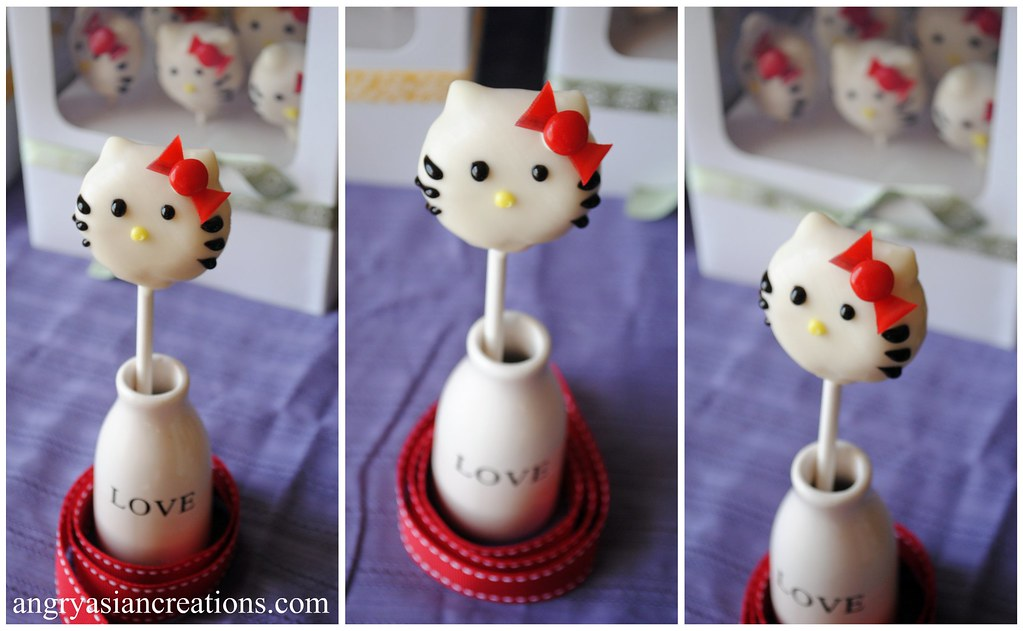 Hello Kitty Cake Pops | Blogged | Lan | Flickr