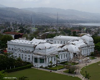 The Presidential Palace, Port-Au-Prince, March 2010. | by WWOZ New Orleans