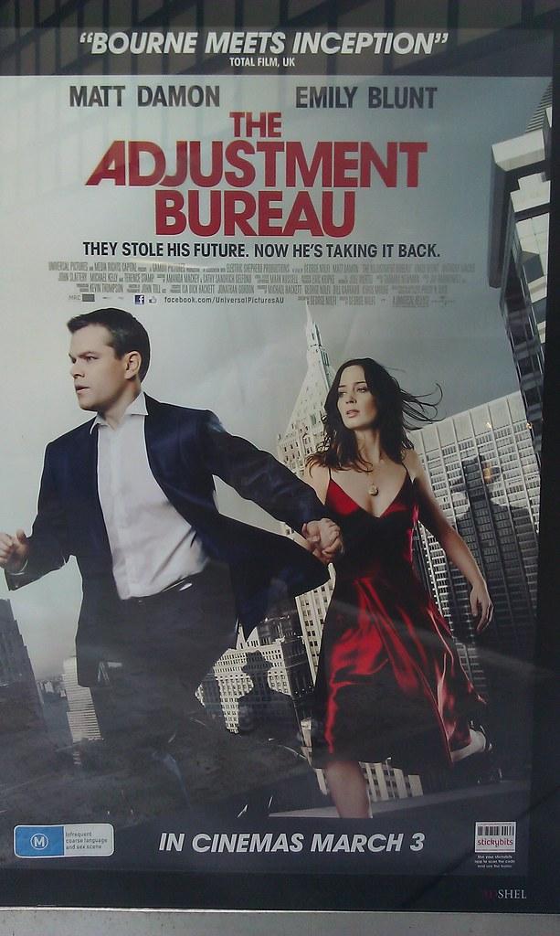 The adjustment bureau movie poster neerav bhatt flickr for Bureau movie