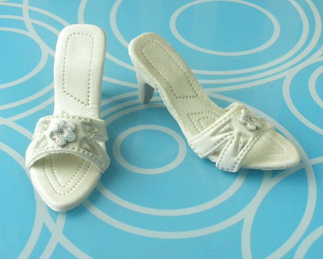 Cake Decorations Silver Shoes : Silver Shoe Cake Toppers Flickr - Photo Sharing!