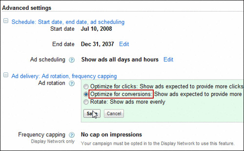 adwords-optimize-for-conversions | by measuredsem