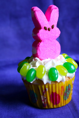 Garden Bunny Cupcakes | by Hungry Housewife