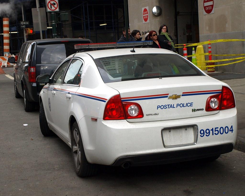 USPS Postal Police Car, Financial Center, New York City ...