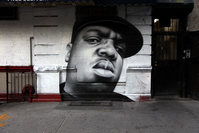 Biggie mural in brooklyn new york flickr photo sharing for Biggie smalls mural brooklyn